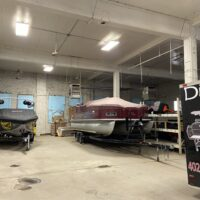 2204 garage with rv and boat